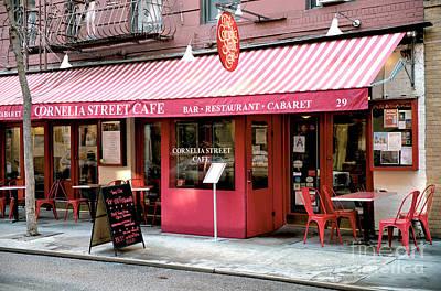 Photograph - Cornelia Street Cafe by John Rizzuto