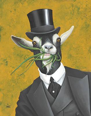 Painting - Cornelius Grassmouth Mcghee by Matt Ebisch