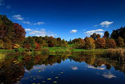 Photograph - Cornell Arboretum by Paul Ge