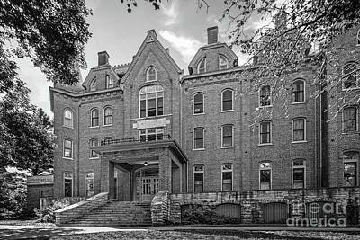 Cornell College Photograph - Cornell College Bowman Carter Hall by University Icons