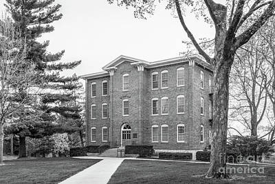 Iowa Photograph - Cornell College South Hall by University Icons