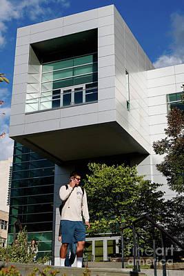 Cornell University Duffield Hall Nanoscale Science And Technology Facilitiy Art Print by Jason O Watson