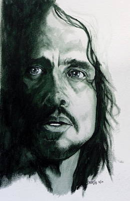 Soundgarden Painting - Cornell by William Walts