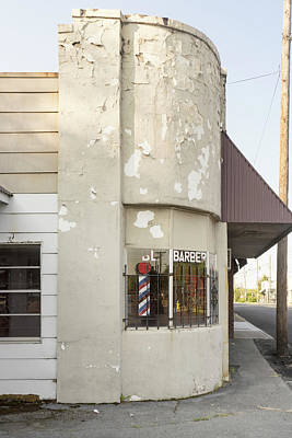 Photograph - Corner Barber by Sharon Popek