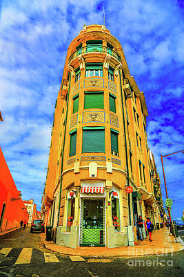 Photograph - Corner Building Lisbon by Rick Bragan