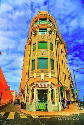 Photograph - Corner Building Lisbon by Rick Bragan