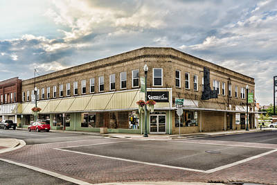 Photograph - Corner Commerce And Market by Sharon Popek