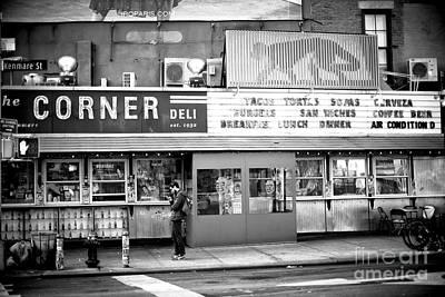 Photograph - Corner Deli by John Rizzuto