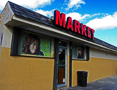 Photograph - Corner Market by Elizabeth Hoskinson