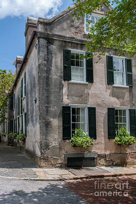 Photograph - Corner Of Charleston Historic by Dale Powell