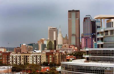 Photograph - Corner Of Downtown Dallas by Joan Bertucci