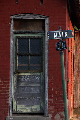 Photograph - Corner Of West And Main by Ed Smith