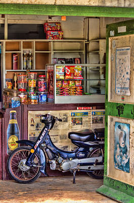 Photograph - Corner Shop by Nadia Sanowar