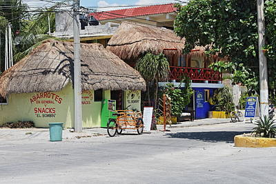 Caribbean Corner Photograph - Corner Shops by Paul Williams