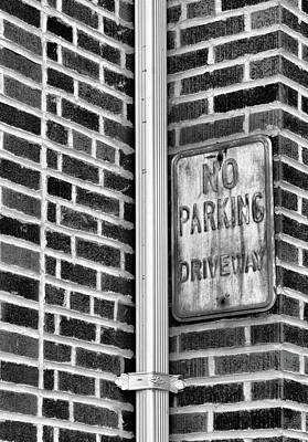 Photograph - Corner Sign by Cate Franklyn