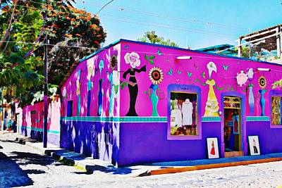 Photograph - Corner Store In Ajijic, Mexico by Tatiana Travelways