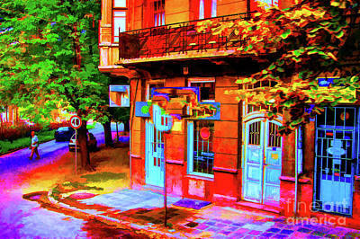Photograph - Corner Store Serbia by Rick Bragan