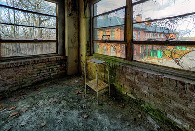 Photograph - Corner-view by John Hoey