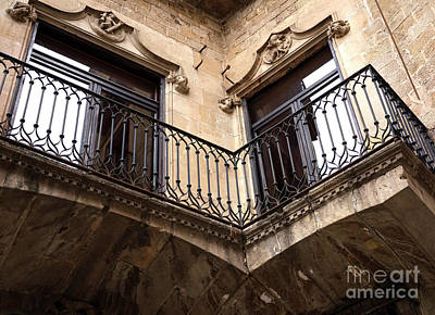 Photograph - Cornered In Barcelona by John Rizzuto