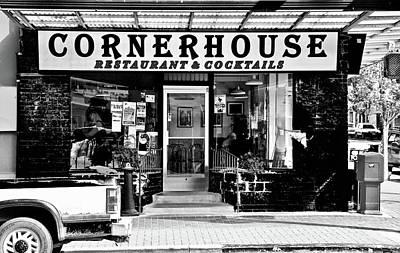 Photograph - Cornerhouse Restaurant by Brian Sereda