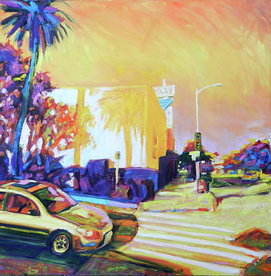 Painting - Corners by Bonnie Lambert
