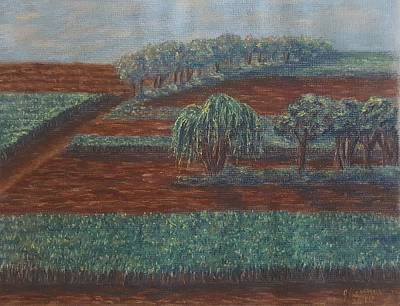 Pastel - Cornfields by Joann Renner