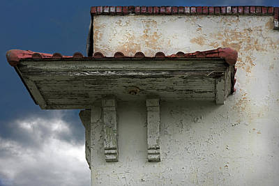 Photograph - Cornice by Murray Bloom