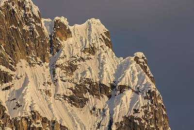 Cornices On The Rooster Comb Art Print
