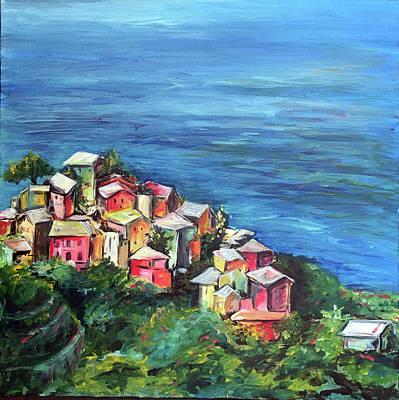 Painting - Corniglia by Ashley Martinez