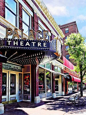 Photograph - Corning Ny - Movie Theatre by Susan Savad