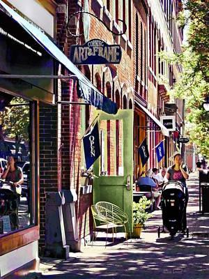 Photograph - Corning Ny - Strolling Down Market Street  by Susan Savad