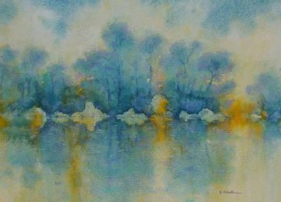Cornish Blue Art Print by Georg Schedlbauer