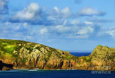 Photograph - Cornish Coast by Judi Bagwell