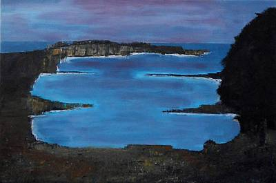 Painting - Cornish Coastline by Stella Arden
