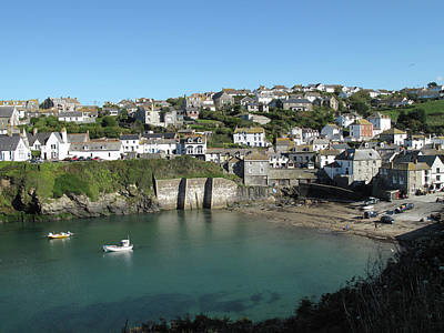 Fishing Village Photograph - Cornish Fishing Village Of Port Isaac, Cornwall by Thepurpledoor