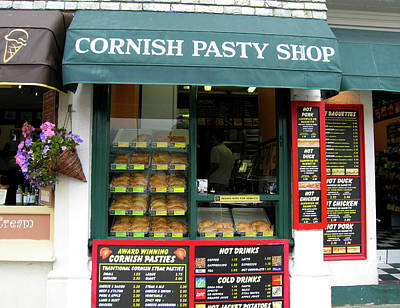Photograph - Cornish Pasty Shop by Kurt Van Wagner