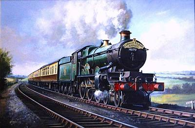 Cornish Riviera Express. Original by Mike  Jeffries