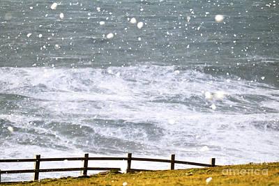 Photograph - Cornish Snow by Terri Waters