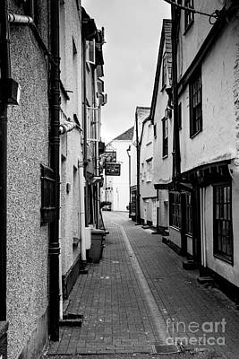 Ally Photograph - Cornish Street Looe by Brian Roscorla