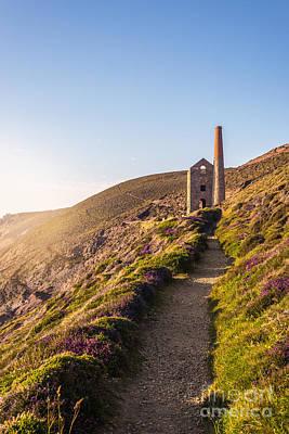 Cornish Tin Mine Print by Amanda Elwell
