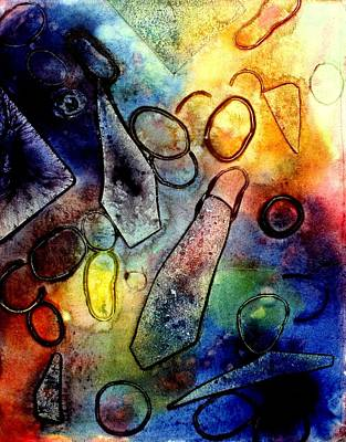 Print Mixed Media - Cornucopia  II by John  Nolan