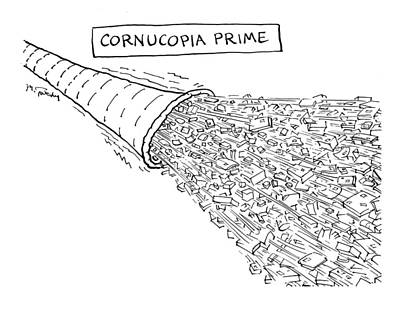 Drawing - Cornucopia Prime by Mike Twohy
