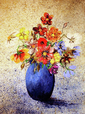Cornucopia-still Life Painting By V.kelly Art Print