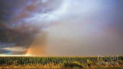 Photograph - Corny Weather by Jim Garrison