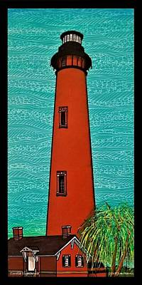 Painting - Corolla Lighthouse Obx by Jim Harris