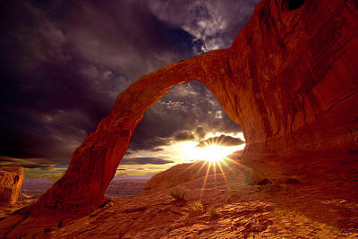 Photograph - Corona Arch by Norman Hall