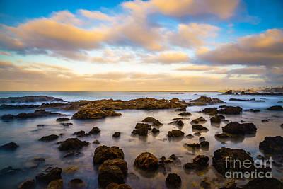 Corona Del Mar Photograph - Corona Beach Tide Pools In Newport Beach California by Paul Velgos