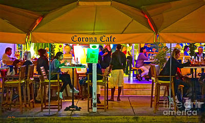 Photograph - Corona Cafe 2 by Judy Kay
