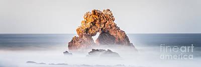 Corona Del Mar Photograph - Corona Del Mar Arch Rock Panorama Photo by Paul Velgos