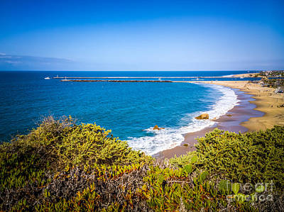 Corona Del Mar Photograph - Corona Del Mar Beach California Picture by Paul Velgos